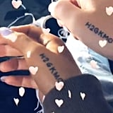 June 2018: Ariana and Pete Get Matching Tattoos