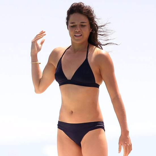 Michelle Rodriguez's Bikini Body in Spain