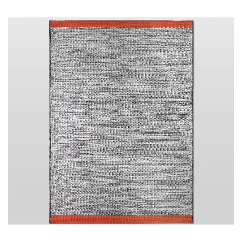 Contrast Edge Outdoor Rug