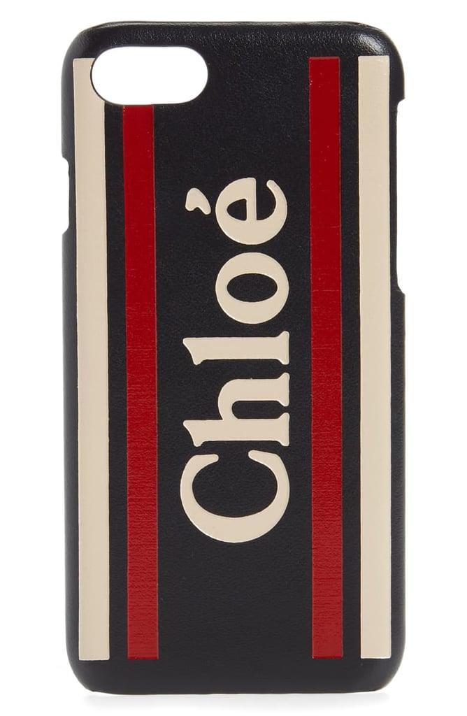 Chloé Vick Leather iPhone X/Xs Case