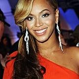 Beyoncé's Side Ponytail in 2011