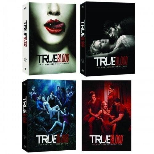 True Blood Season 1-4 ($130)
