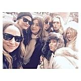 Kate Hudson and Dakota Johnson in Aspen December 2015