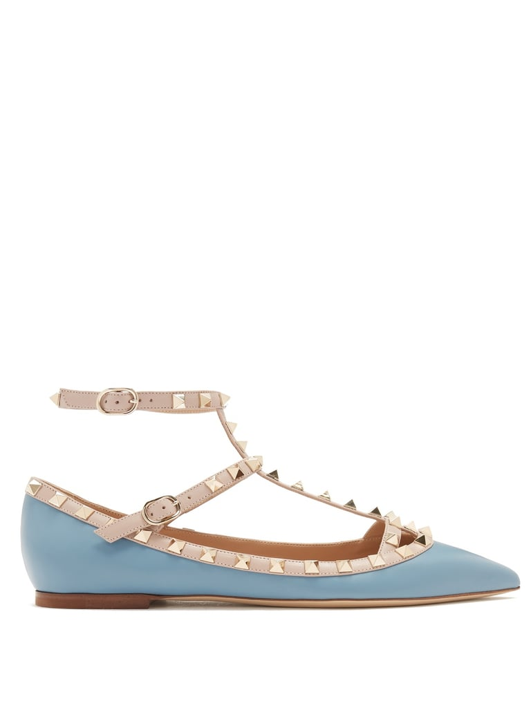 Our Pick: Valentino Rockstud Leather Flats