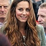 Nach der Geburt von Prinz George zeigte sich Kate ganz menschlich – nämlich ohne die perfekte Föhnwelle.