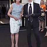 Princess Caroline of Monaco and Karl Lagerfeld