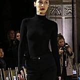 Bella Hadid Rehearsing For the Oscar de la Renta Show at NYFW February 2019