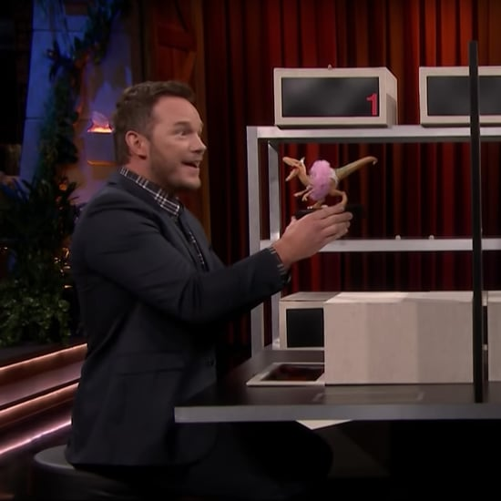 Chris Pratt and Jimmy Fallon Box of Lies