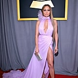Jennifer Lopez Wearing Ralph & Russo to the 2017 Grammy Awards
