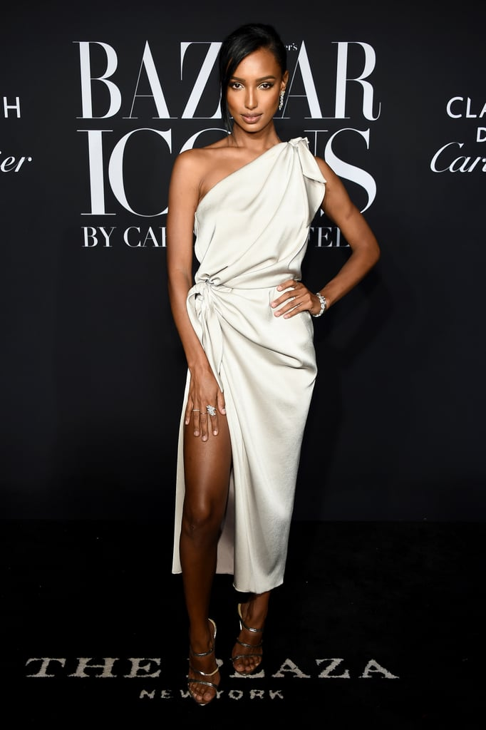 Jasmine Tookes at the Harper's Bazaar ICONS Party During New York Fashion Week