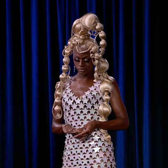 Drag Race Superstar Symone Wears a Paco Rabanne Star Dress