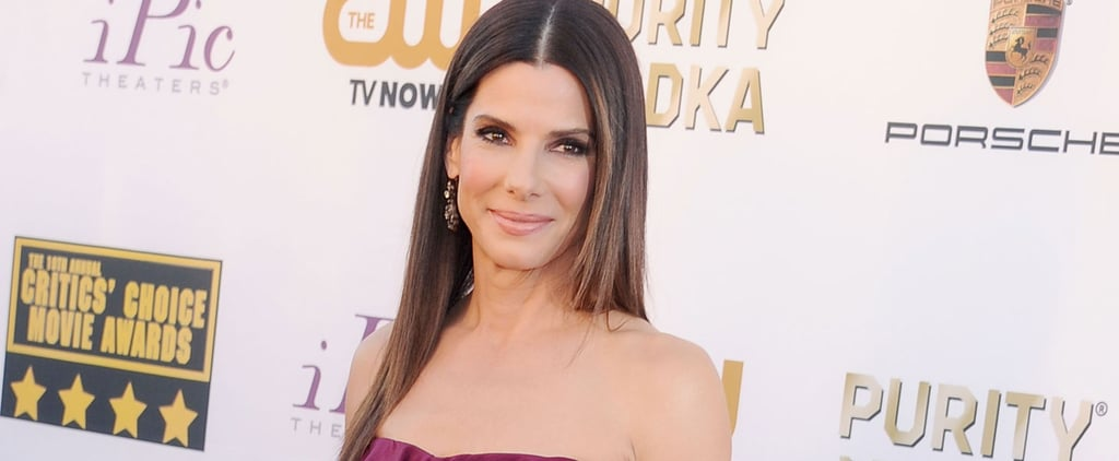"Sandra Bullock Talks About Her ""Loud"" Kids During a Hope Floats Reunion With Harry Connick Jr."