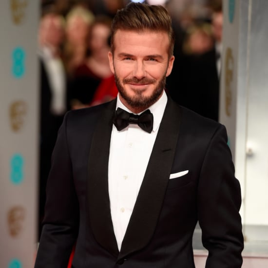 David Beckham Posts a Picture of Harper on Instagram 2015