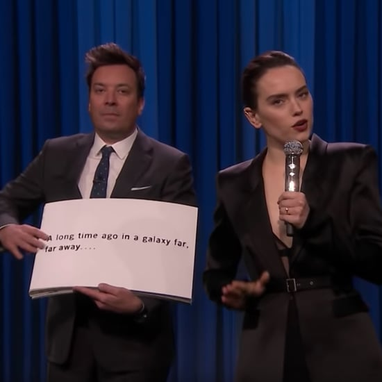 Watch Daisy Ridley's Star Wars Rap on The Tonight Show