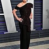 Ashlee Simpsion at the 2019 Vanity Fair Oscar Party