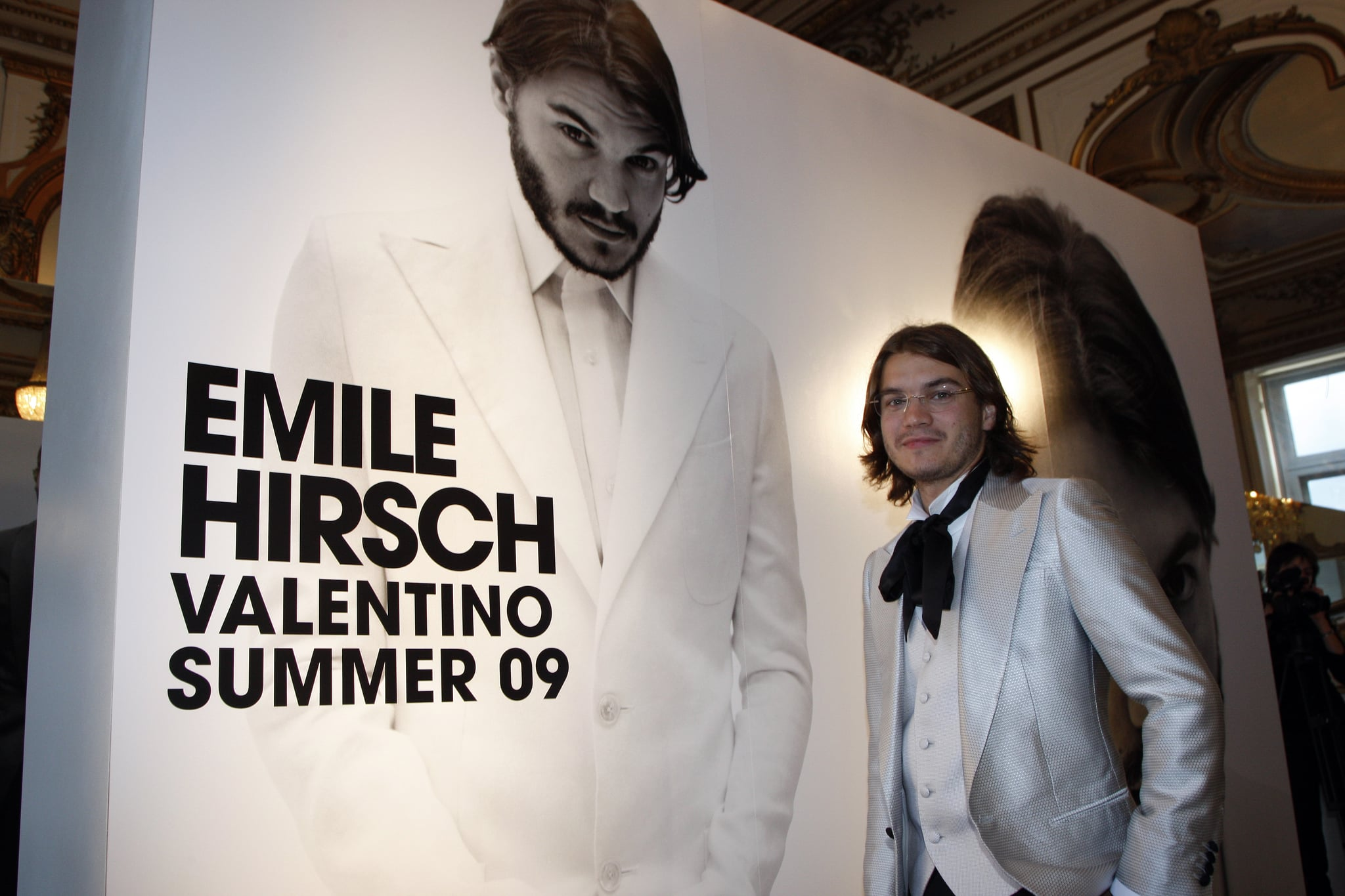 Emile Hirsch for Valentino