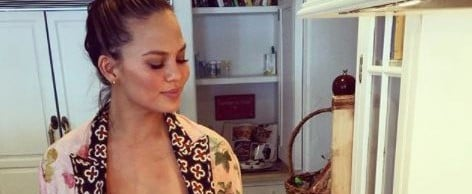 These Are the 6 Foods Chrissy Teigen Keeps in Her Fridge at All Times