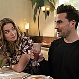 Alexis and David Rose From Schitt's Creek