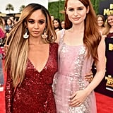 Vanessa Morgan and Madelaine Petsch Pictures