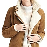 Gap Shearling Moto Jacket ($698)