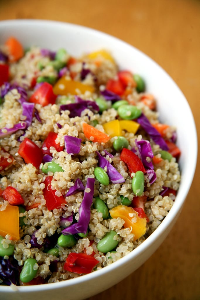 Sesame Ginger Quinoa Salad | Healthy Low Calorie Spring ...