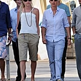 Ellen DeGeneres and Portia de Rossi Take a Loved Up Tour of St. Barts