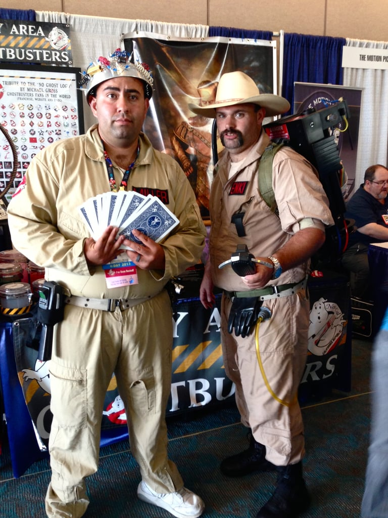 Comic-Con isn't Comic-Con without at least one pair of Ghostbusters.
