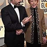 Pictured: Steve Carell and Carol Burnett