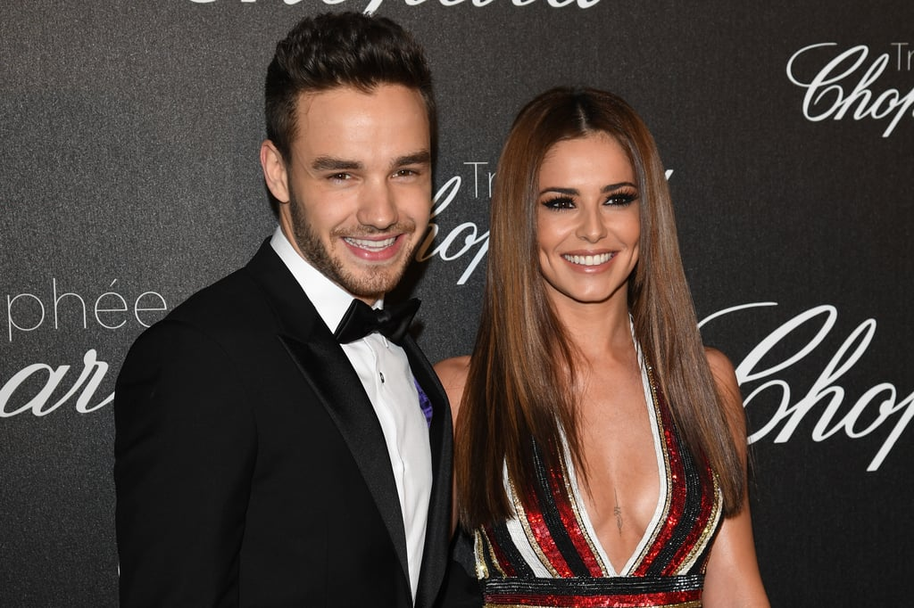 Photos of Cheryl and Liam at the Chopard Trophy Ceremony