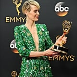 Sarah Paulson With a Pixie Haircut