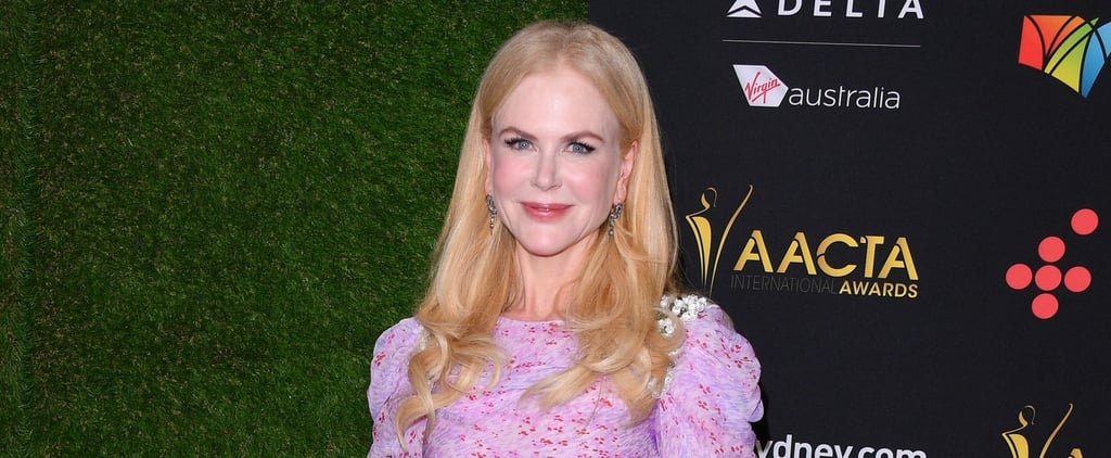 Nicole Kidman Found the Most Romantic Way of Wearing 2018's Color of the Year