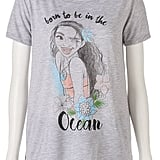 """Juniors' Moana """"Born to Be In the Ocean"""" Graphic Tee"""