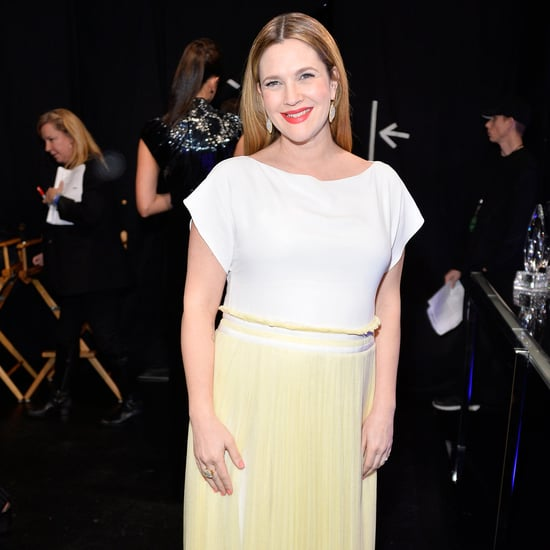 Drew Barrymore's People's Choice Awards Maternity Dress