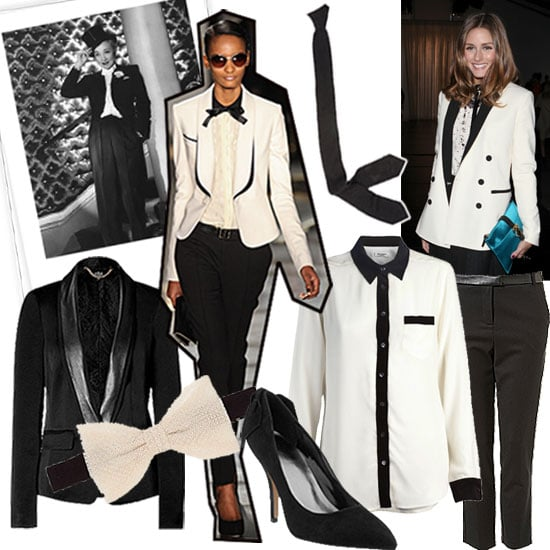 The Tuxedo Trend For Fall 2011