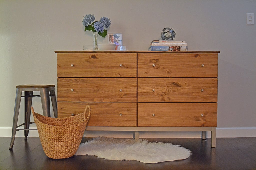 Turn an ikea staple into a midcentury modern masterpiece - Customiser une commode ikea ...