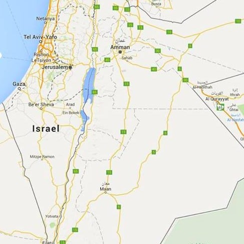 Petition to Put Palestine on Google Maps