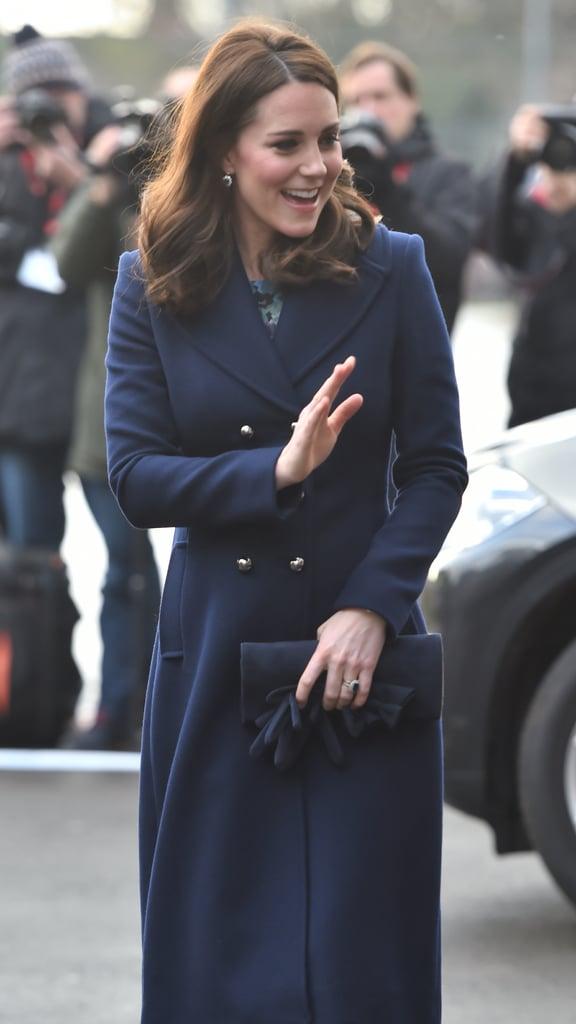 Kate Middleton's Blue Hobbs Coat