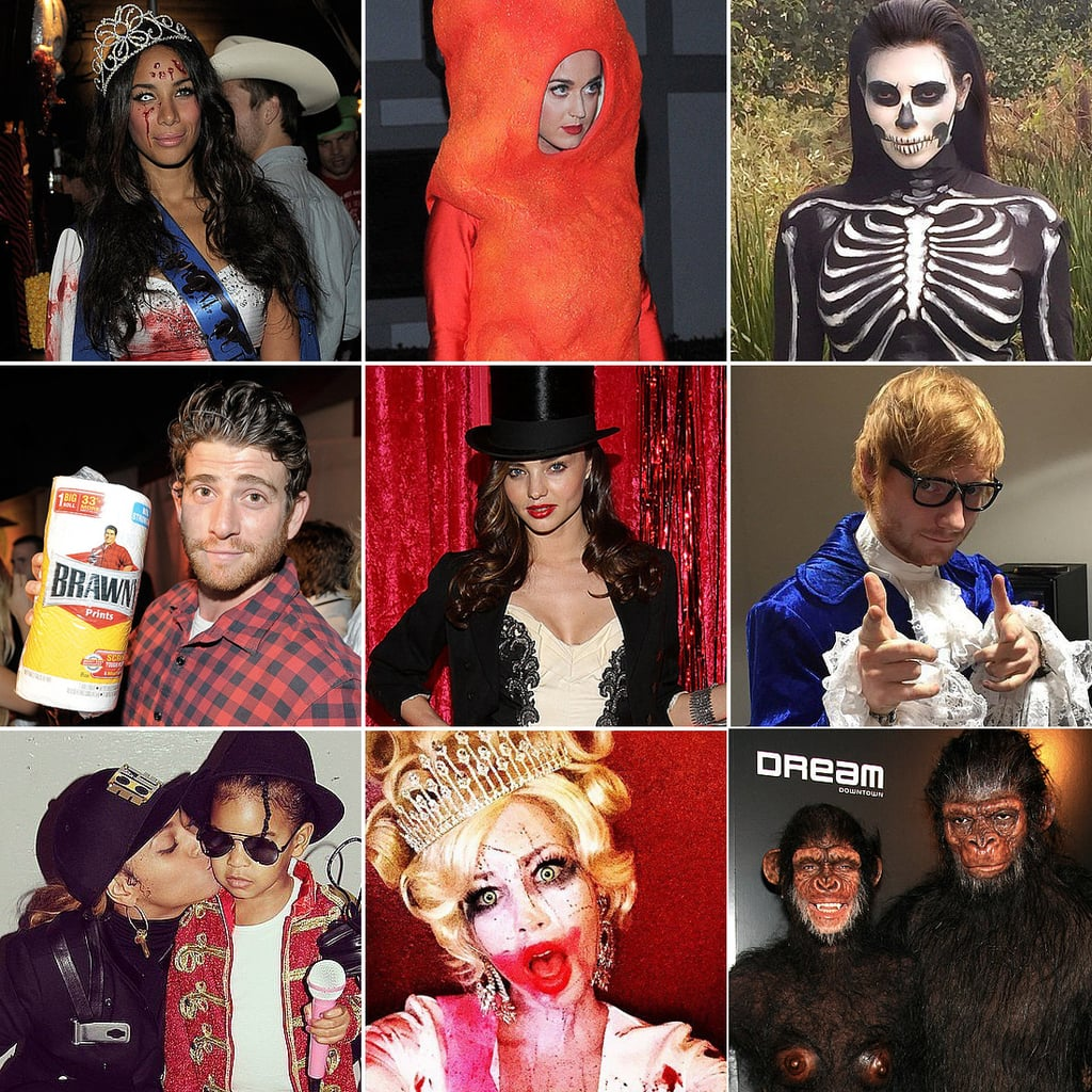 crazy celebrity halloween costumes pictures