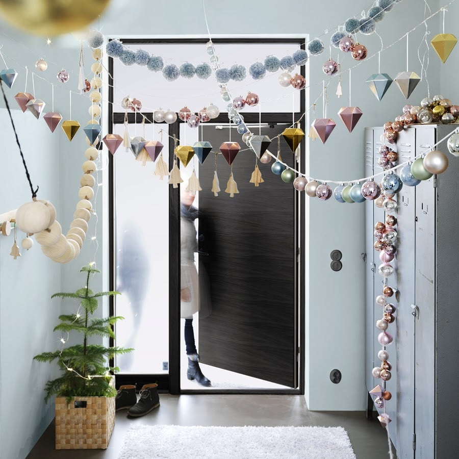We love the idea of hanging ornaments and baubles as entryway accessories — it's a modern take on garlands. Buy packs for yourself ranging from $4 to $10!