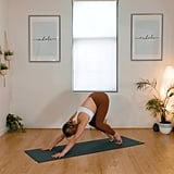 Downward Dog to Walk to Top of Mat