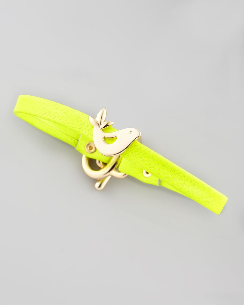 The easiest way to brighten your friend's holiday might just be with this Gorjana Love Bird Leather Bracelet ($45).