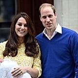 Princess Charlotte's Hospital Debut