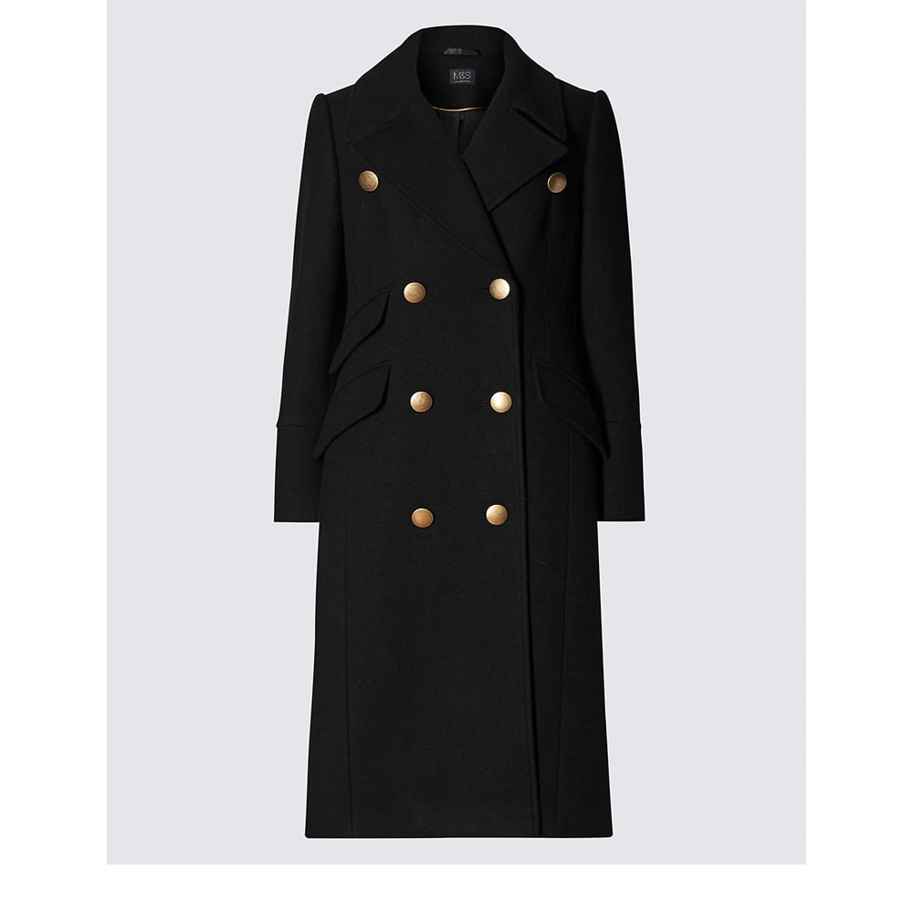 Marks and Spencer Military Long Coat ($172)