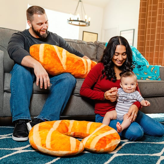 Croissant Body Pillow and Baby Feeding Infant Support Pillow