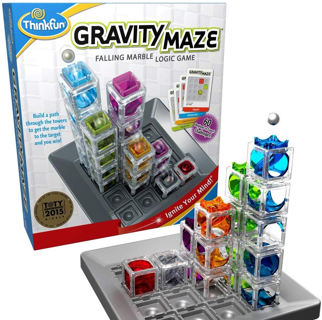 For 9-Year-Olds: ThinkFun Gravity Maze Marble Run Logic Game