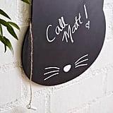 Forever 21 Sass & Belle Cat Chalkboard