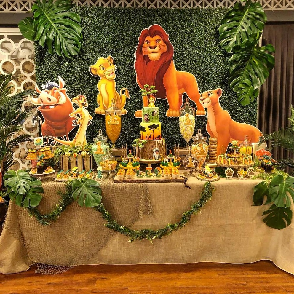 Lion King 1st Birthday Party Ideas Best Lion And Tiger 2018