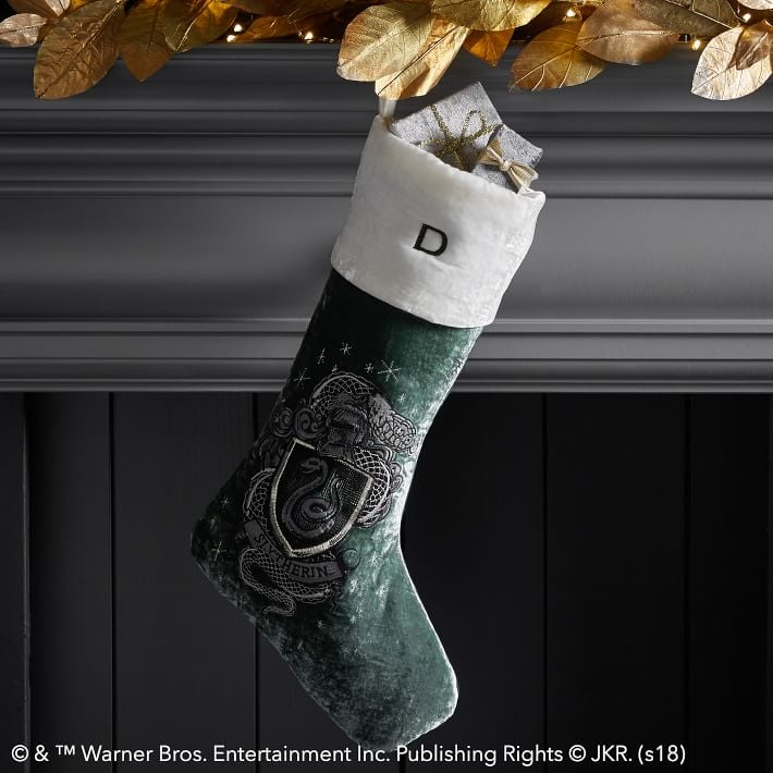 Harry Potter Slytherin Stocking