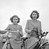 They posed as biker girls in Windsor in 1942.