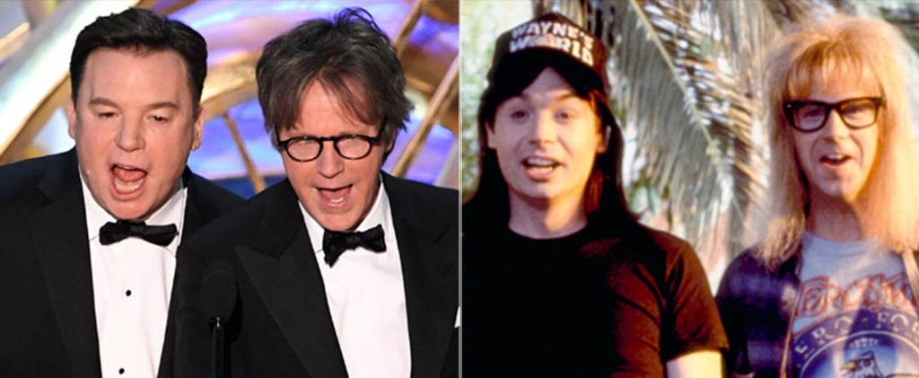 Mike Myers and Dana Carvey Reunion at the Oscars 2019 Video